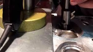 mirafräsning ventilsäten volvo b230f youtube