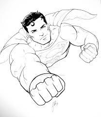 superman sketch 2015 by artisticschmidt on deviantart