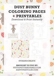 dust bunny coloring pages printables u2014 petit petit family