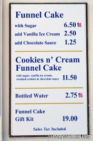 review new cookies n u0027 cream funnel cake in epcot u0027s american