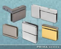crl arch prima series frameless shower door hardware