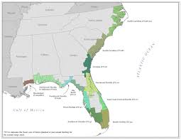 Map Of Florida And Georgia by Region Iv Coastal Maps Atlantic And Gulf Coast Flood Hazard