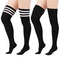 amazon com womens queen plus size thigh high stockings plus size