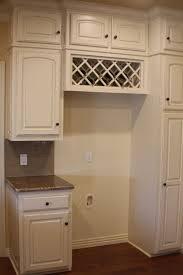 Kitchen Cabinet Rack Oak Wood Cherry Madison Door Kitchen Cabinet Wine Rack Backsplash