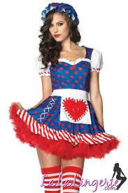 Rag Doll Halloween Costumes Leg Avenue Darling Raggedy Ann Rag Doll Costume