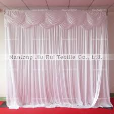 wedding backdrop aliexpress 1 3m 3m 3m 6m layer swag silk wedding backdrop