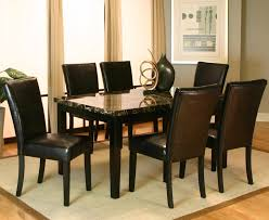 7 Piece Dining Room Sets 7 Piece Dining Leg Table And Side Chair Set By Cramco Inc Wolf