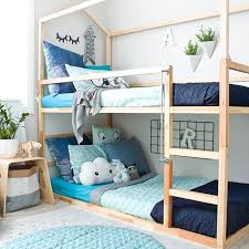 Beds That Have A Desk Underneath Best 25 Ikea Bunk Bed Hack Ideas On Pinterest Kura Bed Hack