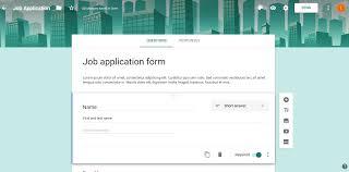 langkah membuat google form cara membuat formulir aplikasi kerja online dengan google form