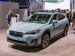 red subaru crosstrek 2018 subaru crosstrek unveiled in u s trim kelley blue book