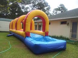 Backyard Slip N Slide Slip And Slide With Pool Rentals Party Rental Professional