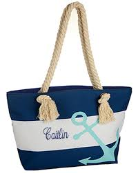 nautical bags personalized nautical tote bags