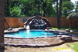 home landscaping waterfall for house landscape and ideas front