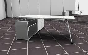 Schreibtisch Mit Kufen Nucleon Workstation Bosse Modul Space Weiß Schreibtische