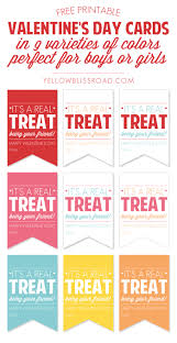 free printable valentine u0027s treat tags yellow bliss road