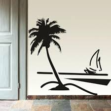 music decorations for home wooden palm tree wall decor image collections home wall