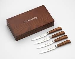 tamahagane kitchen knives san tamahagane 4 steak knife set