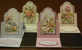 paper anthology archive 3d easel cards