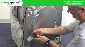 how to fix a tumble dryer that is not heating youtube