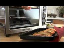 Kitchen Aid Toaster Ovens Kitchenaid 12 Inch Convection Bake Countertop Oven Youtube