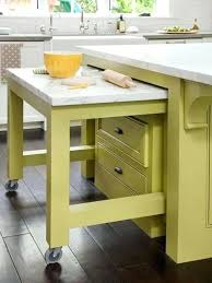 kitchen island pull out table space saving kitchen islands pull out table design maximizing