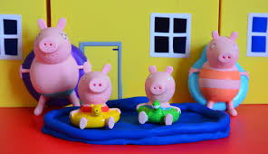 Peppa Pig Play Doh Eggs And Peppa Pig Play Doh Stop Motion