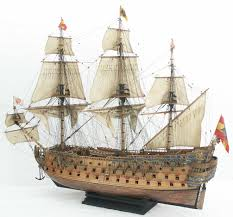 san felipe u0027 spanish 1st rate 1690 with plans ships of the