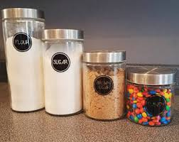 kitchen canister kitchen canisters etsy