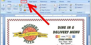 how to make a food menu on microsoft word how to make a menu in