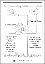 coloring pages remembrance day remembrance day colouring pages