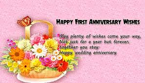 wedding wishes happily after 1st wedding anniversary wishes for wishes4lover