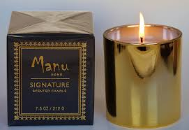 manu home signature fig u0026 white tea luxury aromatherapy candle in