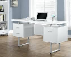 white gloss computer desk computer desks lumiere high gloss computer desk white tressa