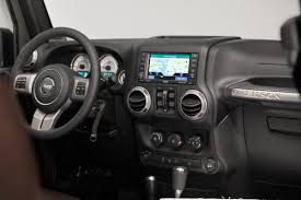 jeep custom console this custom jeep wrangler by filson is the ultimate