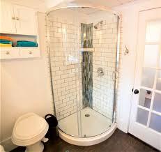 Leaking Shower Door Shower Bathroom Shower Remodel Ideas Awful Tile Door Photo