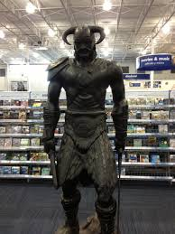 skyrim figures at my local best buy gaming
