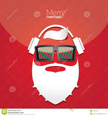 christmas hipster poster for party or card stock images image