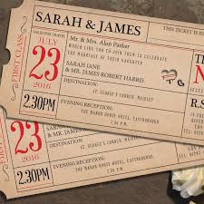 ticket wedding invitations ticket to day invitation wedding invitations