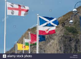 Country Flags Small Flags Of Minority European Countries And Small Nations Flying On