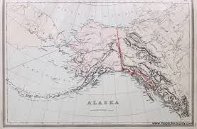 Southeast Alaska Map Antique Maps And Charts U2013 Original Vintage Rare Historical