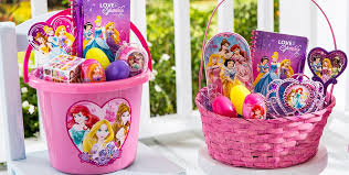 premade easter basket build your own disney princess easter basket party city