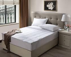 home design waterproof mattress pad reviews amazon com inovatex pur luxe waterproof mattress pad queen