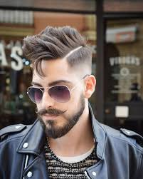 mens hair and beard haircut by virogas barber http ift tt