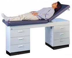 hausmann hand therapy table hausmann 4259 treatment table with drawers save at tiger medical inc