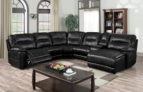 generation trade wrangler air leather reclining sectional savvy