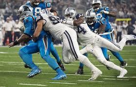 cowboys and unproven defensive line has potential
