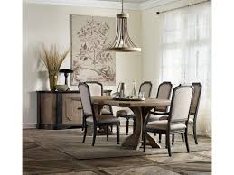hooker furniture corsica formal dining room group with credenza