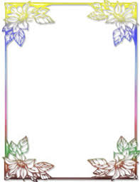 Free Stationery Templates For Microsoft Word free rainbow floral ms word stationery template 61
