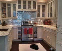 metal backsplash for kitchen decoration astonishing tin backsplash for kitchen ideas of tin
