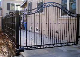 top metal fences and gates with custom wrought iron gate fencing